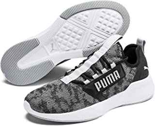 PUMA RETALIATE Men's Outdoor Multisport Training Shoes, Black White, 13 US