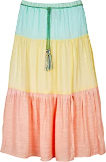 Amy Byer Girls' Tiered Maxi Skirt