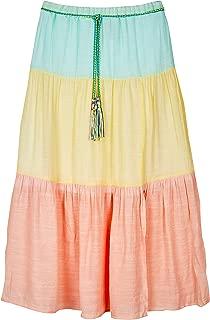 Amy Byer Girls' Tiered Maxi Skirt