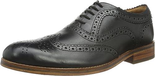Hudson London Keating Calf, zapatos de Cordones Brogue para Hombre