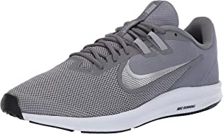 Nike Men's Downshifter 9 Running Shoe, Cool Metallic Silver-Wolf Grey, 11 Regular US