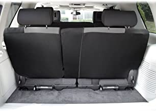 FH Group FB039013GRAY Gray FB039GRAY013 Multifunctional Cloth Split Seat (Full Coverage Car Bench Backrest is Covered on All Sides)
