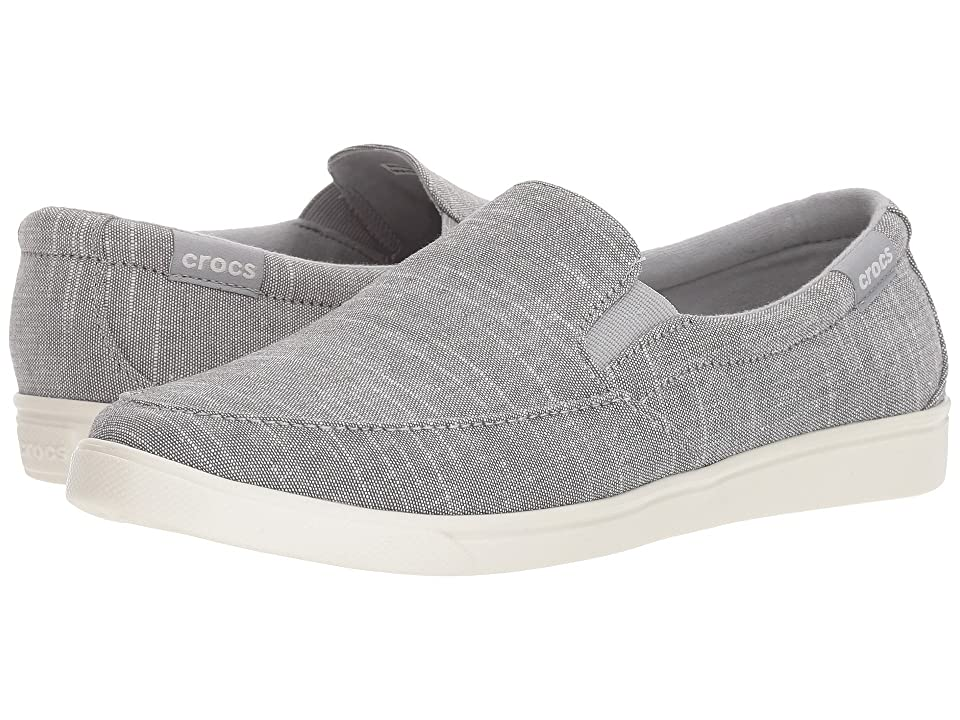 Crocs CitiLane Low Slip-On (Light Grey) Women