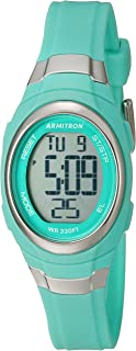 Women's 45/7034 Digital Chronograph Resin Strap Watch