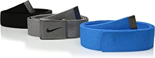 Nike Golf Mens Web Belt 3-Pack