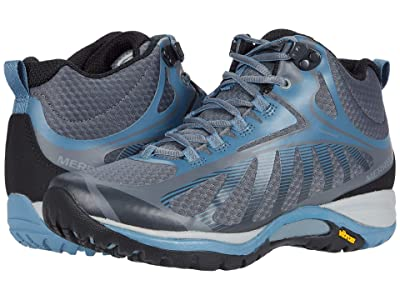 Merrell Siren Edge 3 Mid Waterproof (Rock/Bluestone) Women
