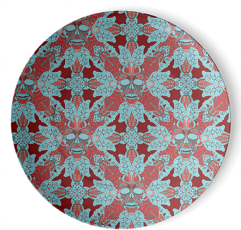 gaeruite Bohemia At the price Boho Ceramic 5% OFF Hanging Plate Decorative Art Decor