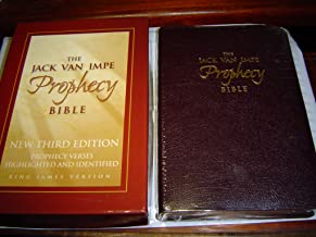 The Jack Van Impe Prophecy Bible, King James Version - Bonded Leather Edition