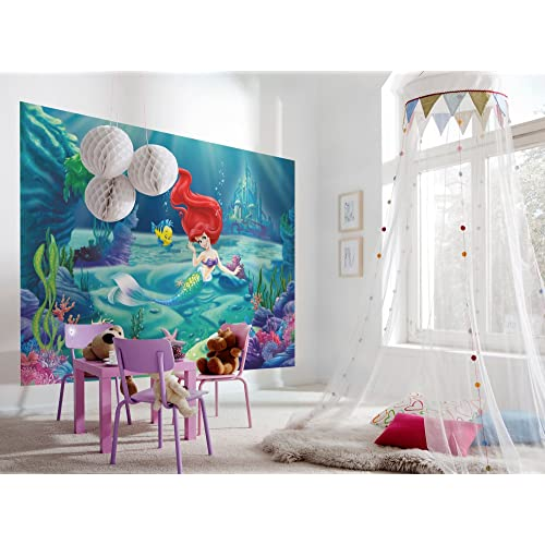 Komar Disney The Little Mermaid Ariel Wallpaper Mural Multi Colour