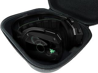 CASEMATIX Travel PC، MAC USB Gaming Headset CarryCase Bag - متناسب با Razer Kraken Pro 7.1 Chroma، Razer ManO'War، Tiamat، Overwatch ManO'War Tournament Edition هدفون های سیمی یا بی سیم