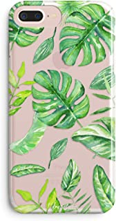 iPhone 6s Case,iPhone 6 Case,Girls Women Bahama Leaves Palm Tree Cute Aloha Green Big Tropical Banana Summer Hawaii Beach Case for Girls Pattern Soft Clear Case for iPhone 6s/iPhone 6s