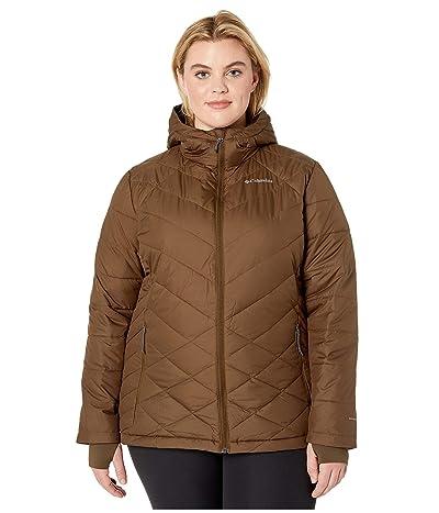 Columbia Plus Size Heavenly Hooded Jacket (Olive Green) Women