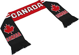 "Official Nations North America Scarf Collection"" Double Weave Head Scarf Men Women, Soccer National Symbols"