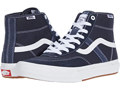 Vans Crockett High Pro (Ink/White) Men