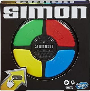 Simon, jeu de mémoire électronique, pour enfants, à partir de 8ans, jeu avec sons et lumières qui tient dans la main, Sim...