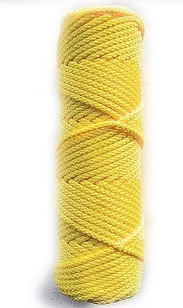 Rollo de 50 m 4 mm de cuerda de polipropileno trenzada universal