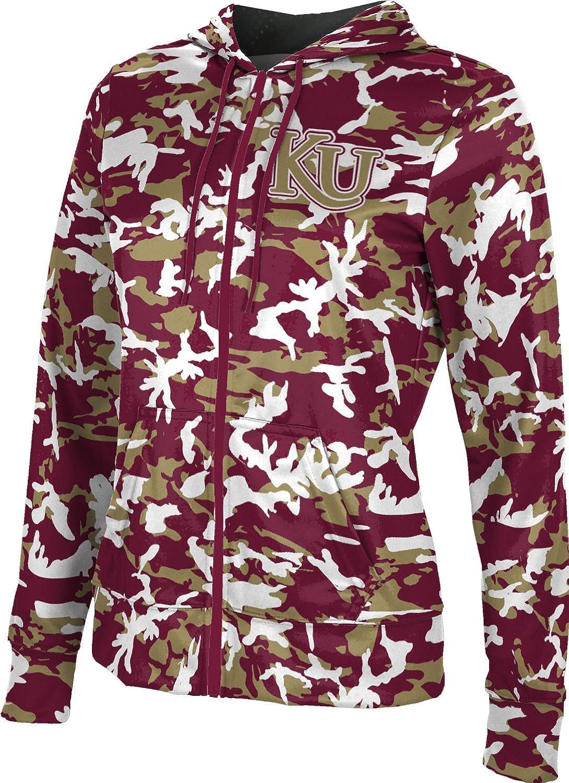 ProSphere Kutztown University Girls' Zipper Hoodie, School Spirit Sweatshirt (Camo)