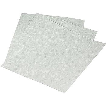 "9/"" x 11/"" Mirka Unbranded White Sanding Sheet 320G 50EA"