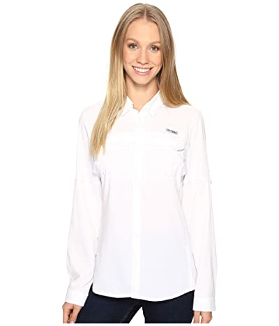 Columbia Lo Dragtm Long Sleeve Shirt (White) Women