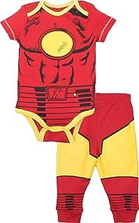 مجموعة ملابس وسروال الأطفال الرضع من Marvel Avengers