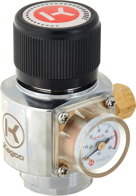Kegco NS-BMR-H Nitrogen Regulator, Mini