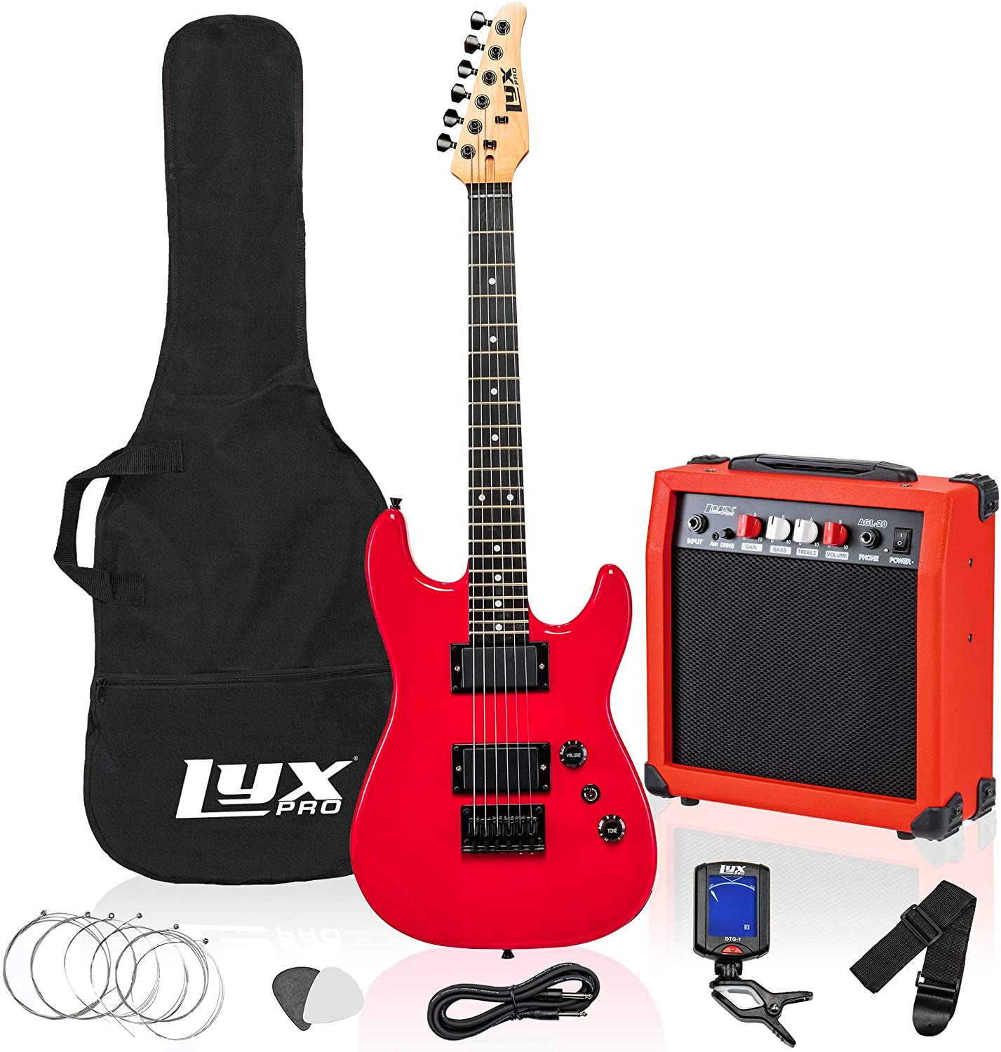 LyxPro 36 Popularity Inch Electric Guitar and Kit Be Kids Size 3 for 4 Superior with