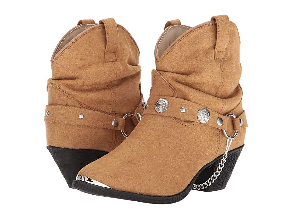 Dingo Fiona (Tan) Cowboy Boots