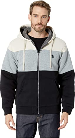 Color Block Lined Fleece