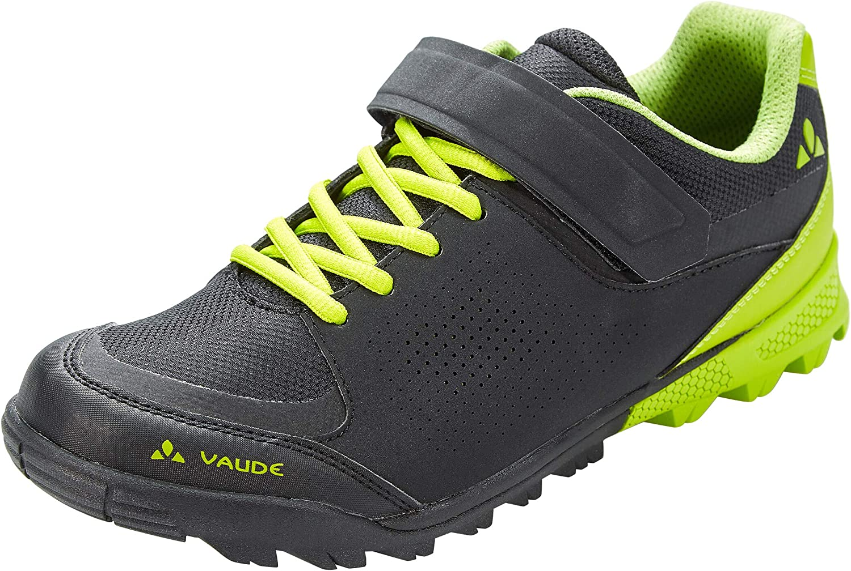 Vaude Unisex Adults' Am Downieville Low Mountain Biking Shoes, Black (Black/Chute 618), 9 UK