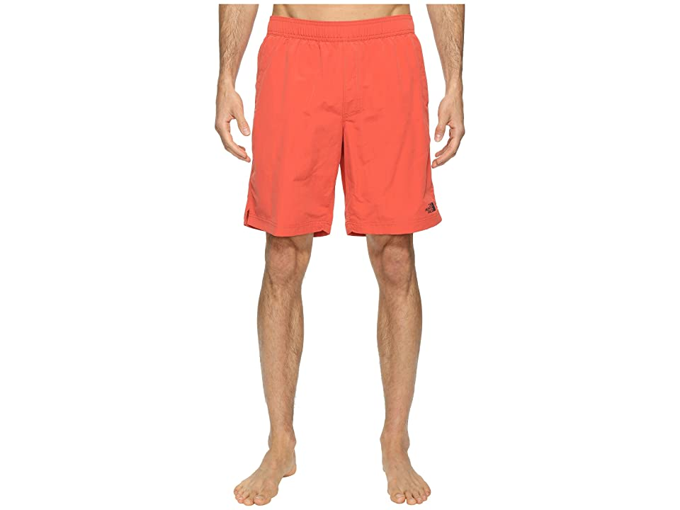 The North Face Class V Pull-On Trunk Long (Sunbaked Red) Men