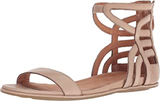 Gentle Souls by Kenneth Cole Larisa Flat Sandal with Gladiator Ankle Straps womens Flat Sandal