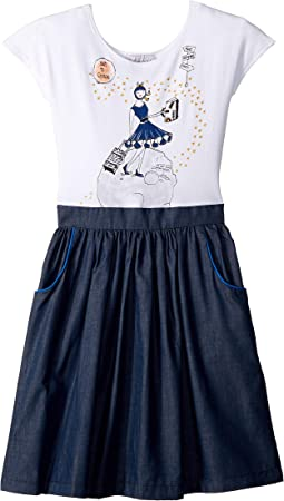 Space Traveler Madeline Dress (Little Kids/Big Kids)