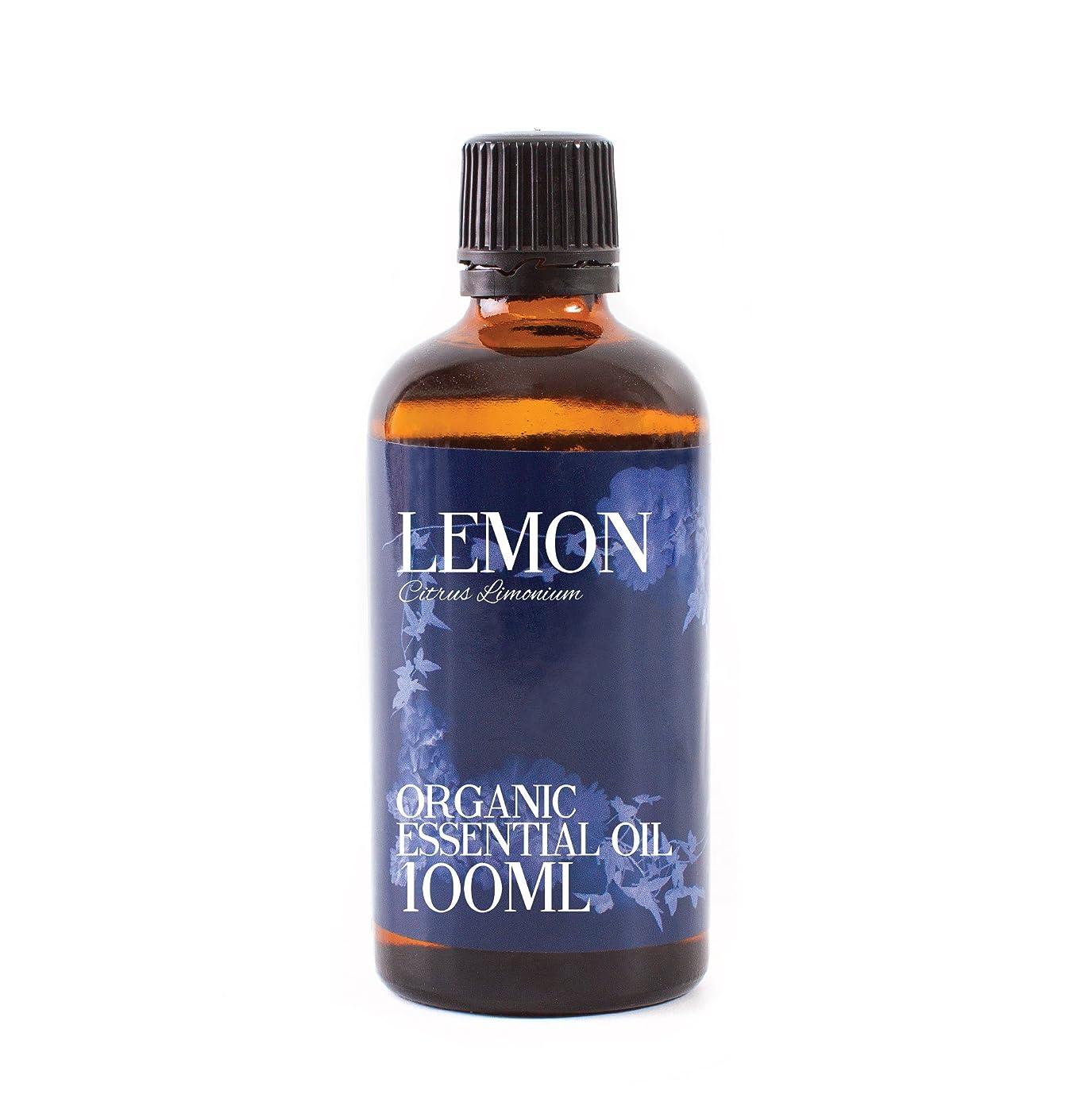 避けるアカデミックうるさいMystic Moments | Lemon Organic Essential Oil - 100ml - 100% Pure