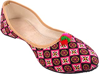 Denim Expos Traditional Bellies UK-Size-4 Multicolor   DNXP-MS-6 Pink