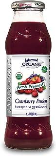 Lakewood 蔓越莓融合果汁 12.5 盎司(约 370 毫升)瓶装(12 瓶)