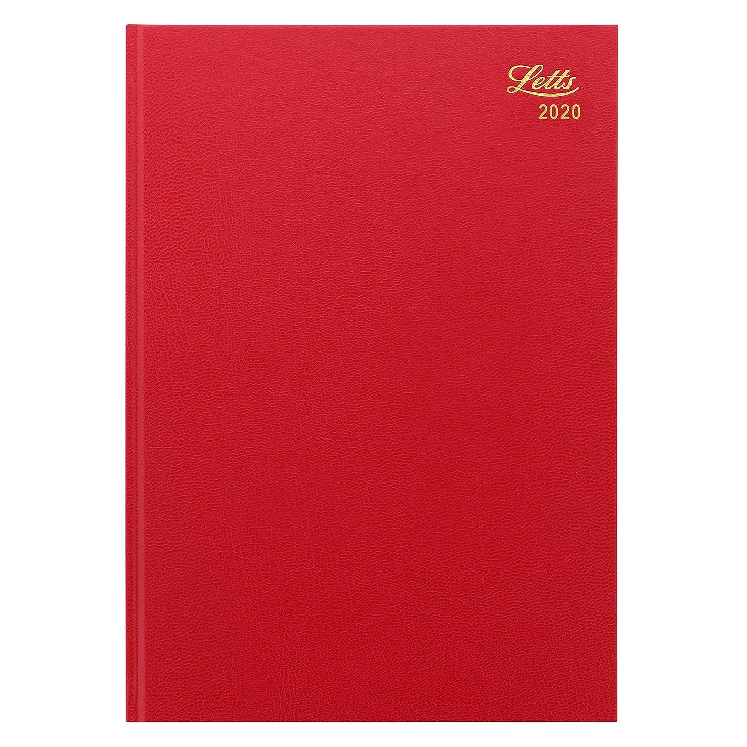 晴れ現代の冷ややかなレッツ 手帳 2020年 1月始まり A4 デイリー スタンダード レッド 20-T11ZRD 正規輸入品