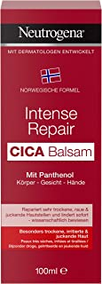 Neutrogena Noorse formule crème, Intense Repair Cica Balsem, met panthenol, voor geïrriteerde huidplekken, 100 ml