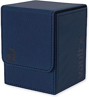 comprar comparacion Vault X® Caja Grande de Cartas - Tamaño Grande para 100+ Cartas en Fundas - Porta Tarjetas Libre de PVC para TCG (Azul)