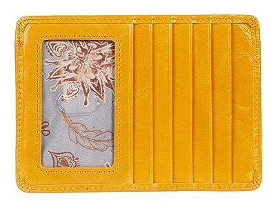 Hobo Euro Slide (Mustard) Wallet