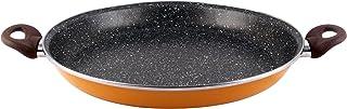 Bergner Hard Paellera, Acero de Carbono, 34 cm, Naranja