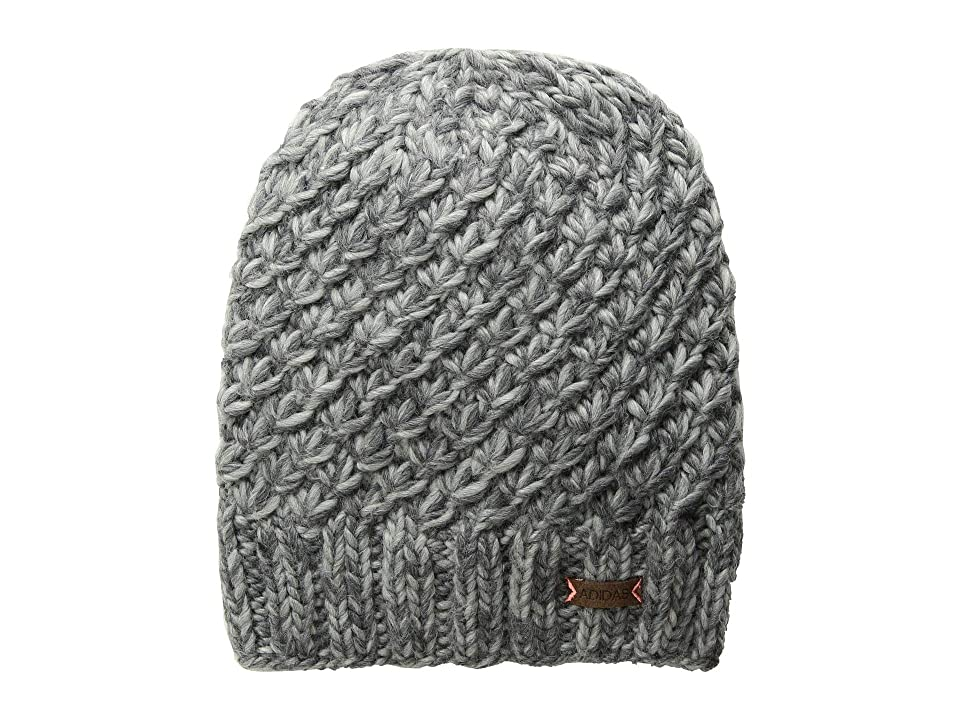 adidas Whittier Beanie (Deepest/Space Grey Marl/Tactile Rose) Beanies