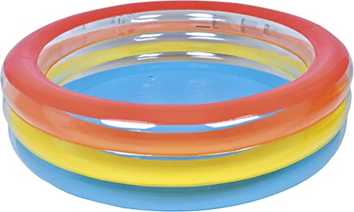 """new arrival Jilong discount Inflatable Ribbon Kiddie Pool for Ages 6+, 73.5"""" x popular 20"""" sale"""