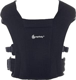 エルゴベビー (Ergobaby) 抱っこひも 前向き抱き可 [日本正規品保証付] 新生児から 柔らかい 軽量 簡単装着 ベビーキャリア エンブレース EMBRACE ブラック 0か月~ CREGBCEMABLK