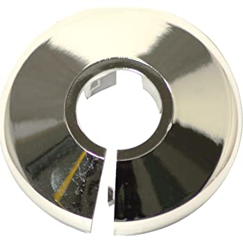 set de 10/piezas cromo TALON pcc28//10/collar para tuber/ía 22/mm