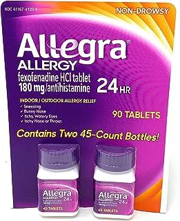 Allegra Allergy, 90 Tablets