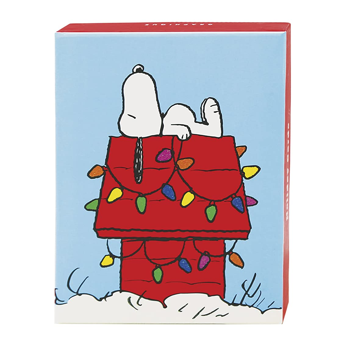 Graphique Snoopy Christmas Assorted Boxed Cards (BM1021)