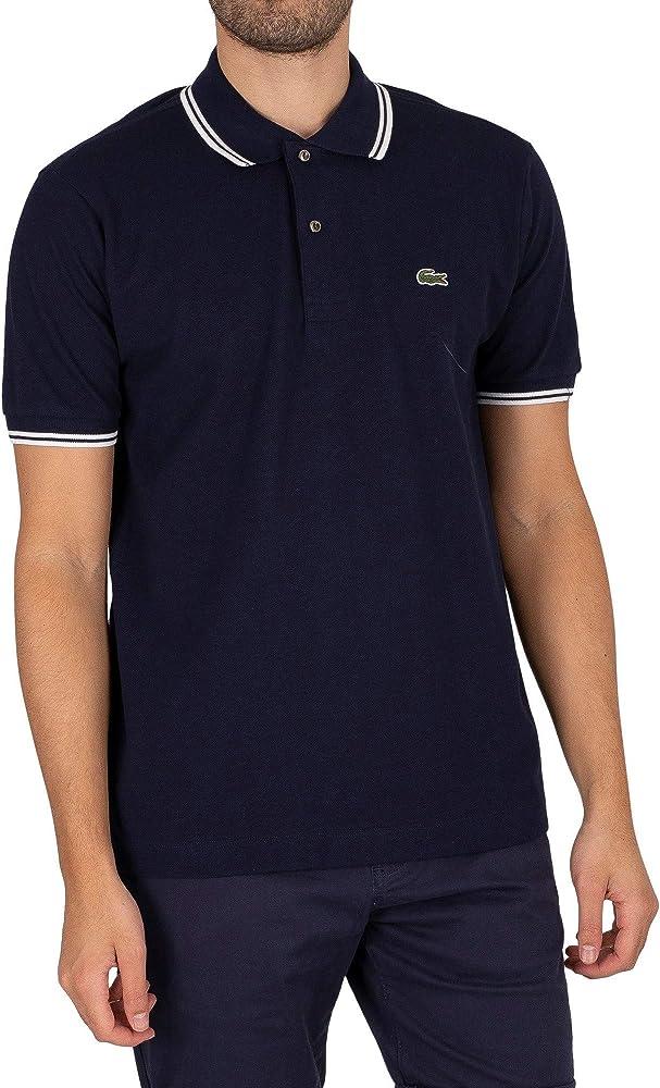 Lacoste polo,maglietta per uomo maniche corte,100% cotone PH2384