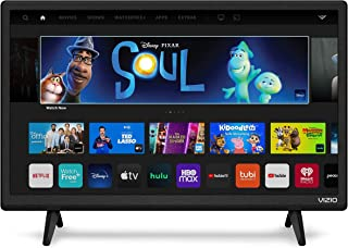 VIZIO 24-inch D-Series Full HD 1080p Smart TV with Apple AirPlay and Chromecast Built-in, Screen Mirroring for Second Scre...
