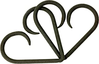Interlocked Forever Iron Hearts | 6 Year for Her or Him | Iron 6th Year Iron 6 Year Intertwined Hearts