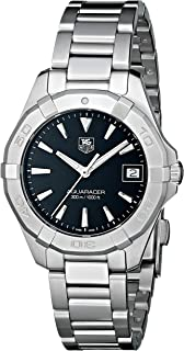 TAG Heuer Women's WAY1310.BA0915 Aquaracer Silver-Tone Stainless Steel Watch